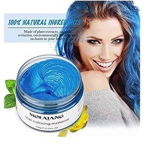 Blue Temporary Hair Dye Wax Mud